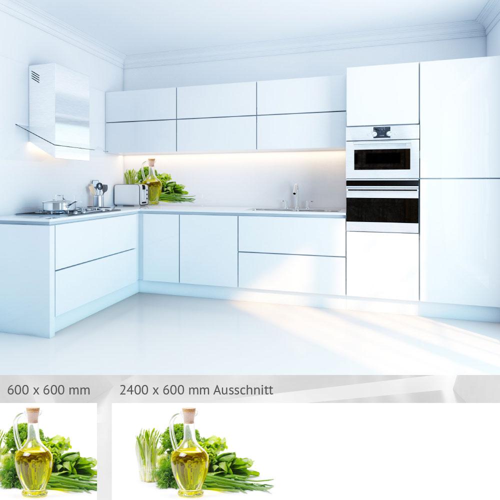 bedruckte k chenr ckw nde aus glas einfach zu reinigen. Black Bedroom Furniture Sets. Home Design Ideas